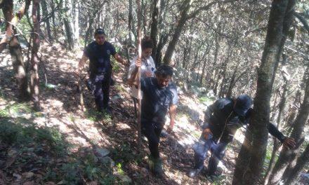 Localizan a 5 personas que se extraviaron en el bosque de Huasca
