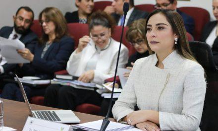 Comparece Jessica Blancas Hidalgo ante el Congreso