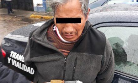Detienen a presunto ladrón de autopartes