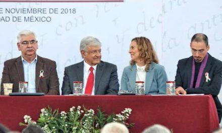 Esposa de AMLO estará al frente de la Coordinación Nacional de Memoria Histórica y Cultural de México