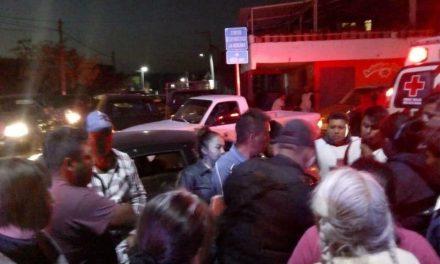 Diputada de Morena atropella a motociclista en Ixmiquilpan
