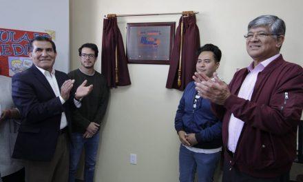 SEPH inaugura aula de medios en primaria mineralense