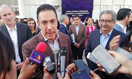 La figura del súper delegado no compite con la del gobernador, señala Omar Fayad