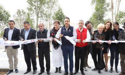 Omar Fayad inaugura laboratorio de investigación para construcción de viviendas