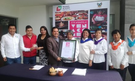 Empresa gastronómica Atomalli obtiene distintivo «ven a comer»