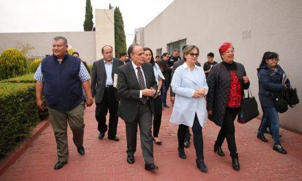 Yoli Tellería y diputados locales buscan acuerdo con Antorcha para levantar plantón