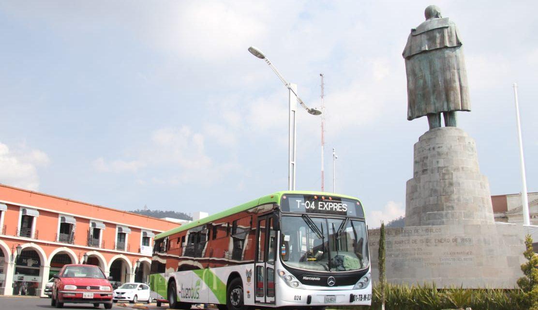Informa Tuzobús diariamente con cuántas unidades opera