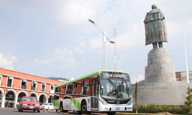 Habrá modificaciones en el servicio de transporte por encendido de árbol
