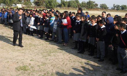 Construyen aulas nuevas en escuela de Tolcayuca