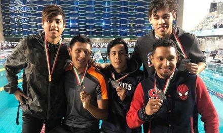 Hidalgo cerró con broche de oro el Nacional de Curso Corto en Natación