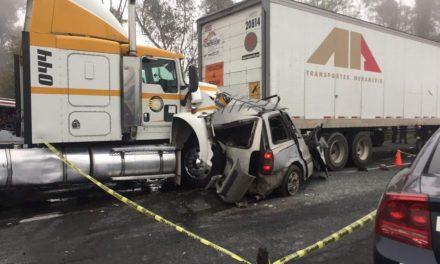Accidente en Tepotzotlán deja dos muertos
