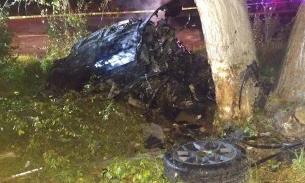Mueren dos personas tras impactar su coche en Tlahuelilpan
