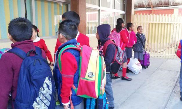 Regresarán a clases 673 mil alumnos de educación básica en Hidalgo