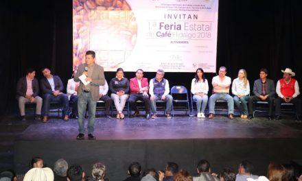 Se lleva a cabo la Primera Feria Estatal del Café en Hidalgo