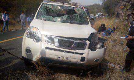 Accidente en Atotonilco el Grande deja 3 lesionados