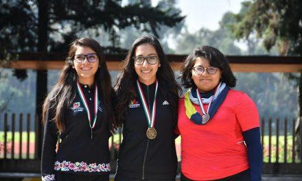 13 medallas para Hidalgo de tiro con arco en el Nacional Bajo Techo
