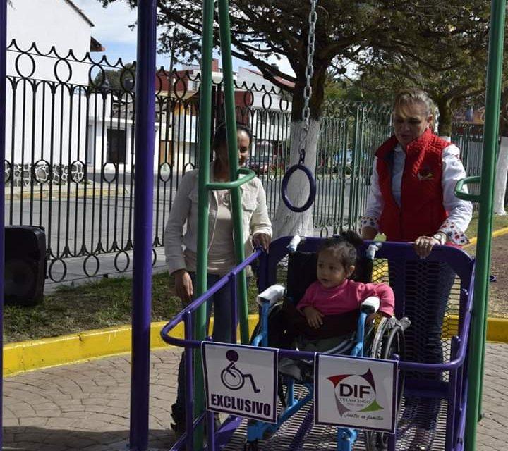Inauguran En Tulancingo Juegos Infantiles Para Personas Con