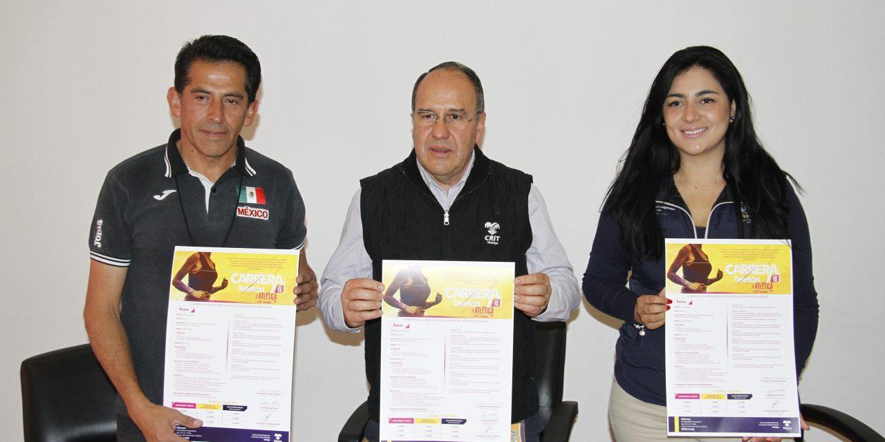 CRIT Hidalgo presentó una edición más de Carrera Atlética con Causa