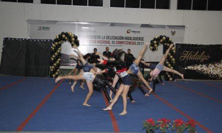 Gimnastas culminaron actividades del 2018