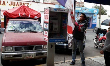 Quitan publicidad en Tulancingo por carecer de permisos