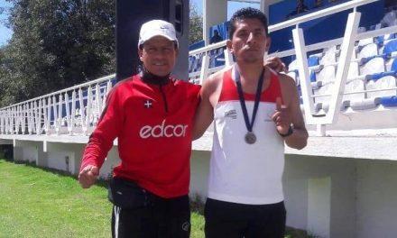 Rubicel Hernández, segundo lugar en mil 500 metros planos