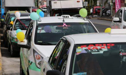 Taxistas celebran su día