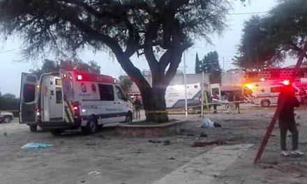 Explosión de cohetes en Tequisquiapan deja 5 muertos