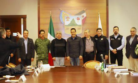 Fayad se reunió con Grupo de Coordinación Interinstitucional