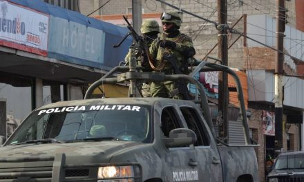 Llegan unidades militares para reforzar la seguridad en el estado