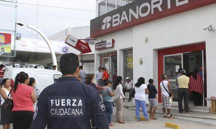 Implementan programa Dinero Seguro para protege a cuentahabientes de Pachuca
