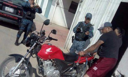 Utilizan dron para recuperar motocicleta robada en Pachuca