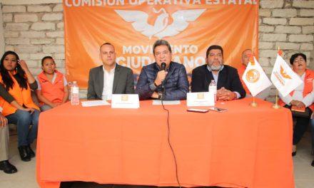 Pablo Gómez asume coordinación de la Comisión operativa de Movimiento Ciudadano
