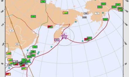 Terremoto de 7.5 sacude Kamchatka, Rusia