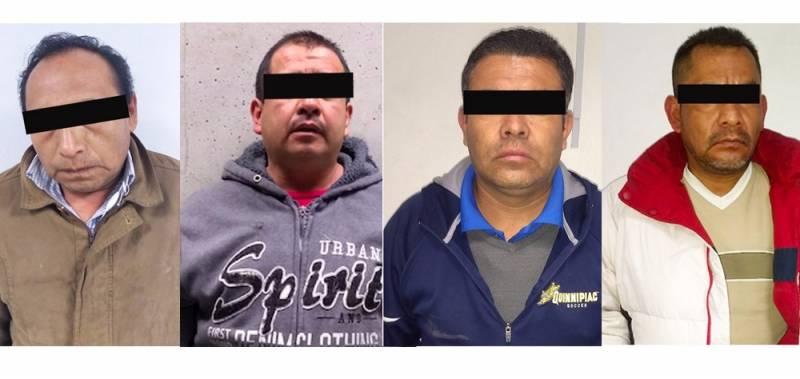 Asegura Seguridad Pública 4 presuntos asaltantes