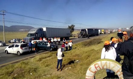 Transportistas enfurecen y lanzan advertencia a manifestantes del SNTE