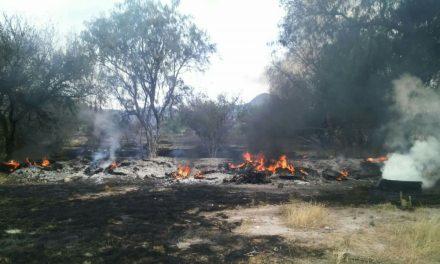 Inicia Operativo de Prevención de Incendios en Pastizales de Tizayuca
