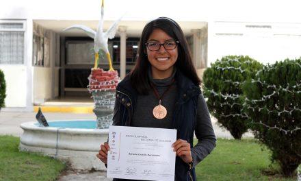 Gana bronce alumna de UAEH en Olimpiada Nacional de Biología