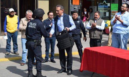Buscan nuevos integrantes para la Policía Municipal de Tulancingo