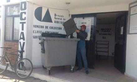 Implementa Santiago Tulantepec campaña de recolección de Residuos Electrónicos