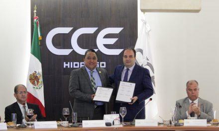 CDHEH Y CCEH firman convenio de colaboración