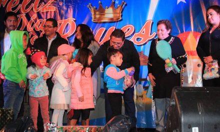 Celebran Día de Reyes en Villa de Tezontepec