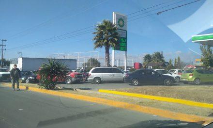 Valle de Tizayuca ya presenta severo desabasto de gasolina