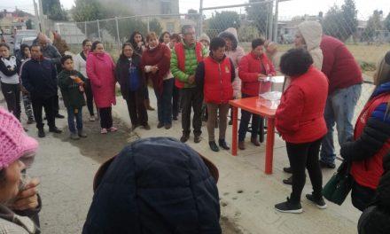 Eligen delegados y subdelegados en Santiago Tulantepec