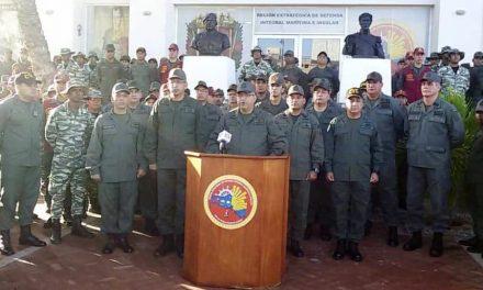 Fuerzas armadas de Venezuela muestran respaldo a Maduro