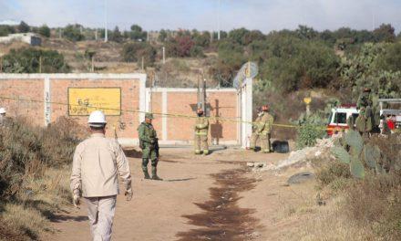 Detectan fuga de hidrocarburo en Nopancalco