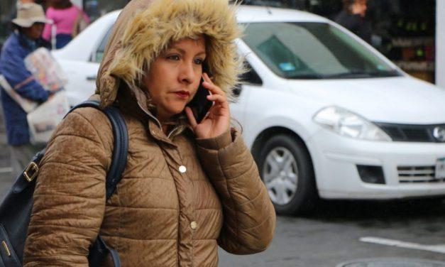 Descenderán temperaturas debido a la entrada de masa de aire polar