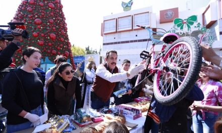 Más de 6 mil niños recibieron obsequios en el Día de Reyes, por parte del gobierno estatal