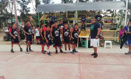 Surgieron campeones de la Liga Regional de Basquetbol de Ixmiquilpan