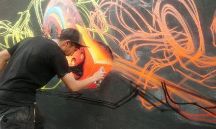 Liga Grafitti reunió a más de 100 artistas en Pachuca