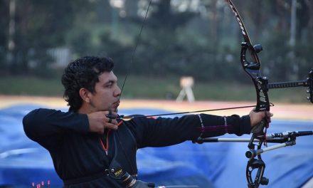 Oldair Zamora, campeón nacional de exteriores en tiro con arco